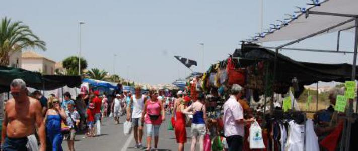 Mercadillo Playa Flamenca